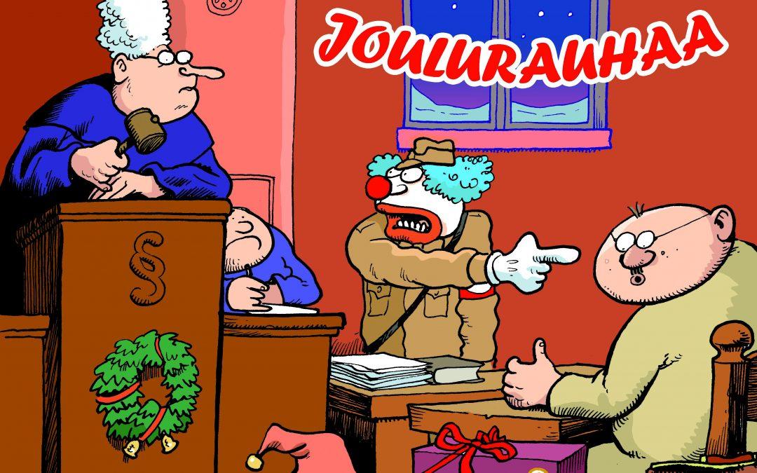 Tue Journalistien tukirahastoa ja lataa ystävillesi joulutervehdys